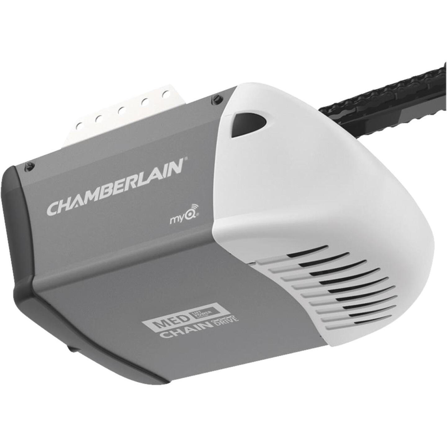 Chamberlain C-203 1/2 HP Durable Chain Drive Garage Door Opener with MED Lifting Power Image 2