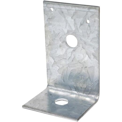 Simpson Strong-Tie 3-7/8 In. x 2 In. x 2-1/2 In. Galvanized Steel 12 ga Reinforcing Angle