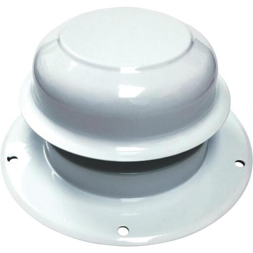 United States Hardware 2 In. Steel Galvanized Cap for Mobile Home