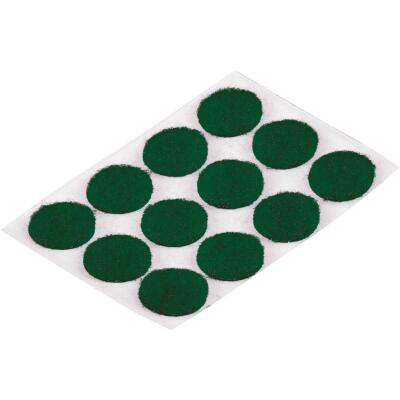 Do it 1/2 In. Green Round Felt Pad (24-Count)
