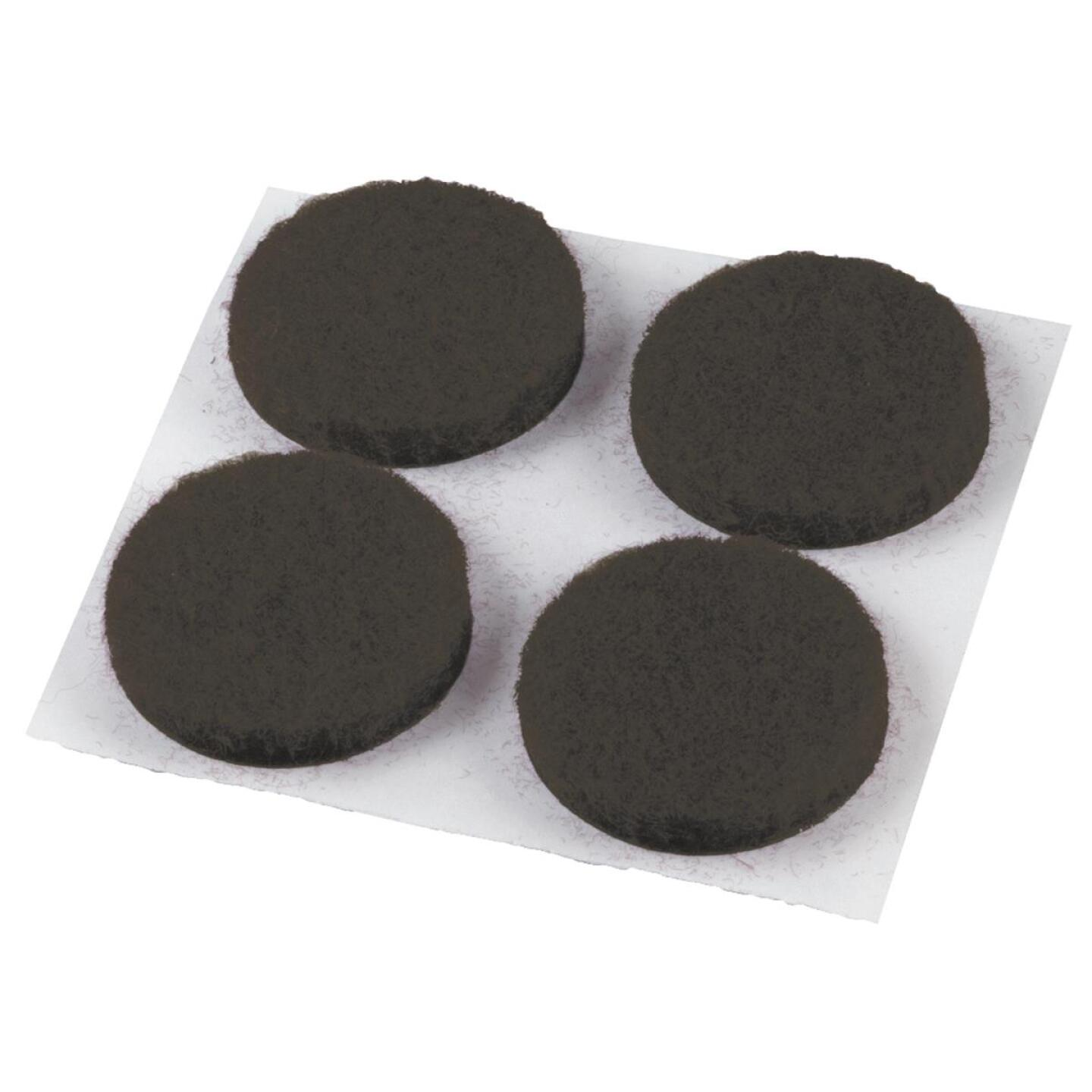 Do it 3/4 In. Brown Round Felt Pad (12-Count) Image 1