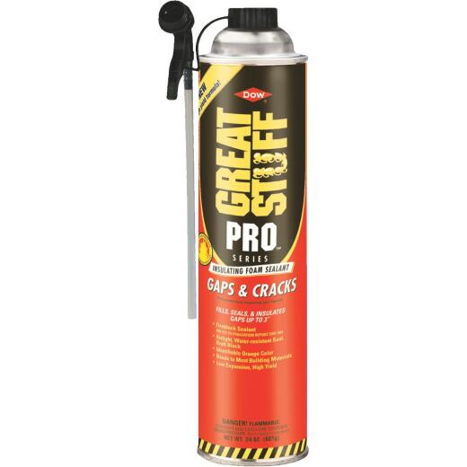 GREAT STUFF PRO Gaps & Cracks 24 Oz. Straw Foam