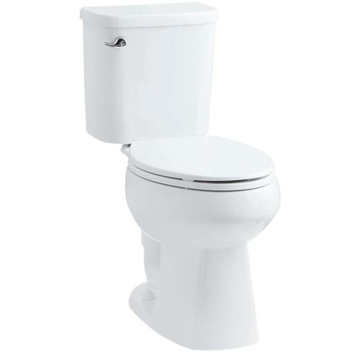 Sterling Windham White Elongated Bowl 1.28 GPF All-In-One Toilet