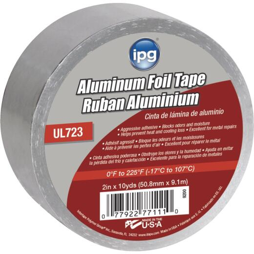 Intertape 2 In. x 10 Yd. UL723 Aluminum Foil Tape