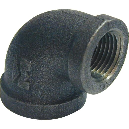 Southland 3/4 In. x 1/2 In. 90 deg Reducing Malleable Black Iron Elbow