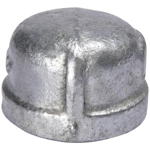 Southland 3/8 In. Malleable Iron Galvanized Cap