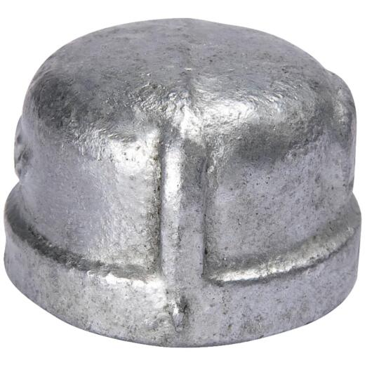 Southland 1/2 In. Malleable Iron Galvanized Cap