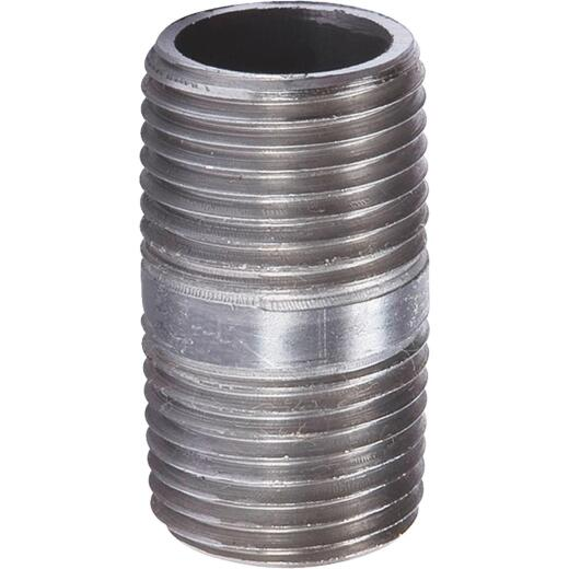 Southland 1 In. x Close Welded Steel Galvanized Nipple