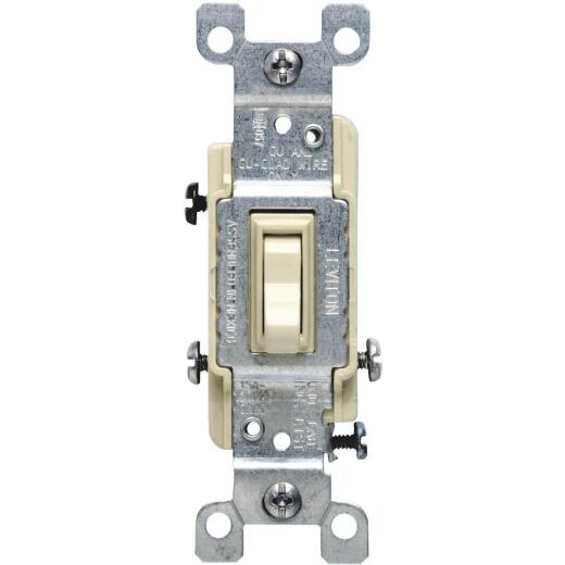 Do it Ivory 15A Grounding Quiet 3-Way Switch
