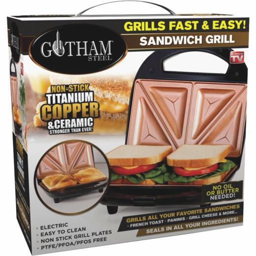 Gotham Steel Electric Sandwich Grill