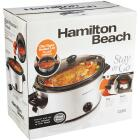 Hamilton Beach Stay or Go 6 Qt. Stainless Steel Slow Cooker Image 4