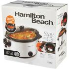 Hamilton Beach Stay or Go 6 Qt. Stainless Steel Slow Cooker Image 7