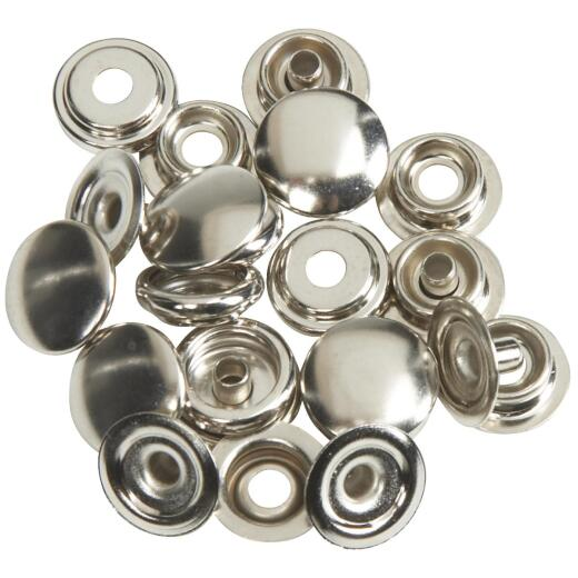 Lord & Hodge Metal Canvas to Canvas Snap Fastener Refill for Canvas (6 Ct.)