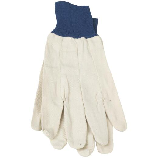 Do it Men's Large Cotton Canvas Work Glove (12-Pack)