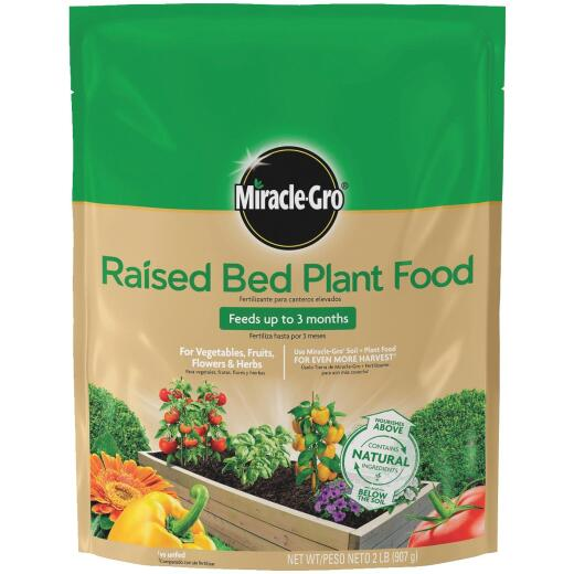 Miracle-Gro 2 Lb. 5-1-7 Raised Bed Dry Plant Food