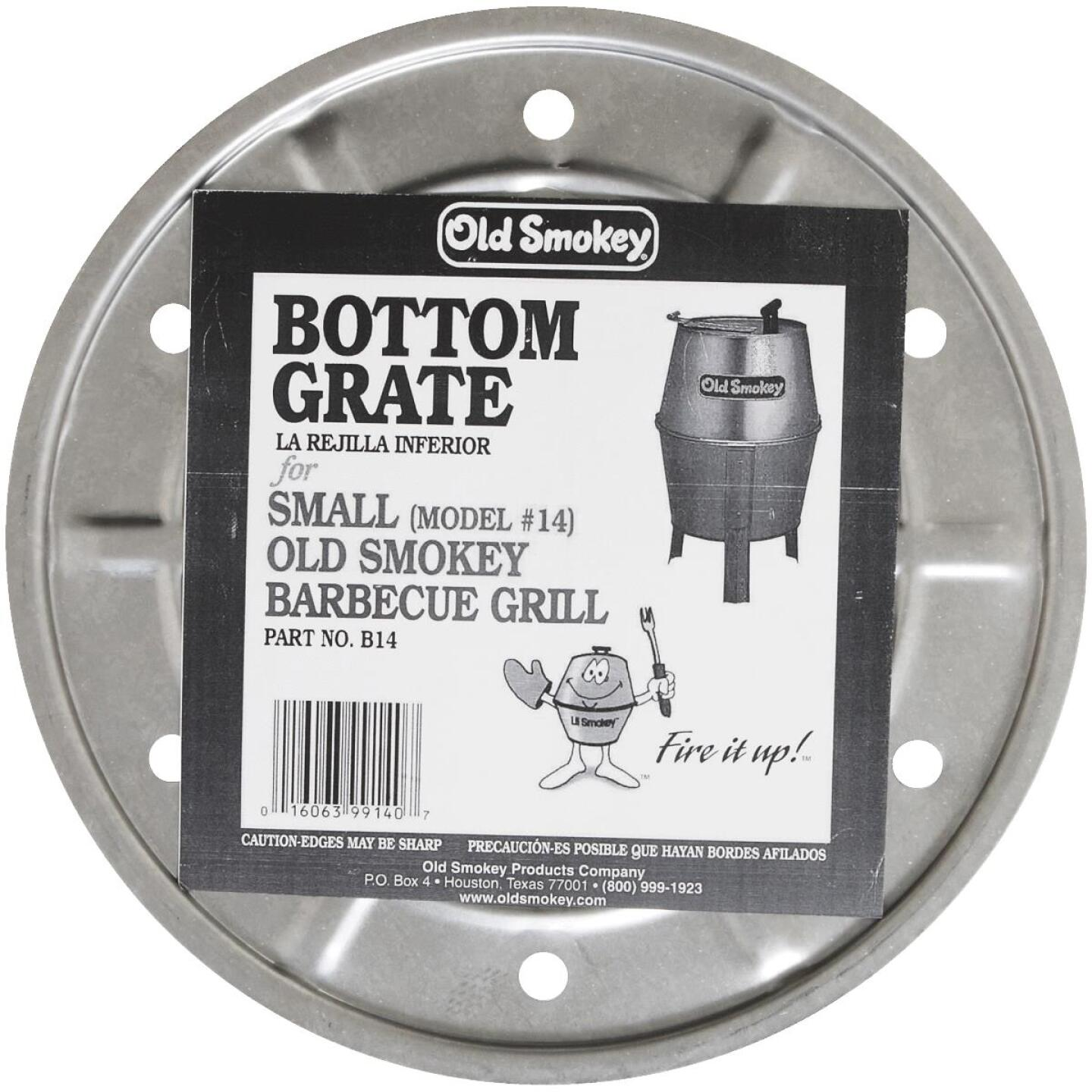 Old Smokey 11.5 In. Dia. Aluminized Steel Bottom Grill Grate Image 2