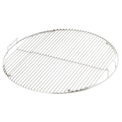 Weber 22.5 In. Dia. Nickel-Plated Steel Hinged Kettle Grill Grate