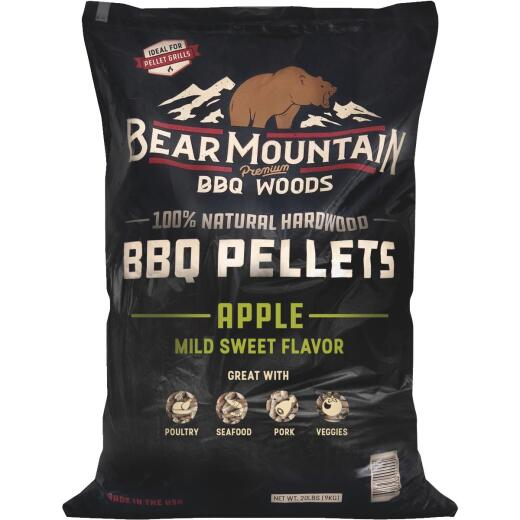 Bear Mountain BBQ Premium Woods 20 Lb. Apple Wood Pellet